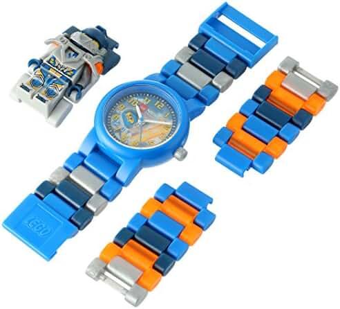 LEGO Kids' 8020516 Ninjago Nexo Knights Clay Minifigure Link Watch