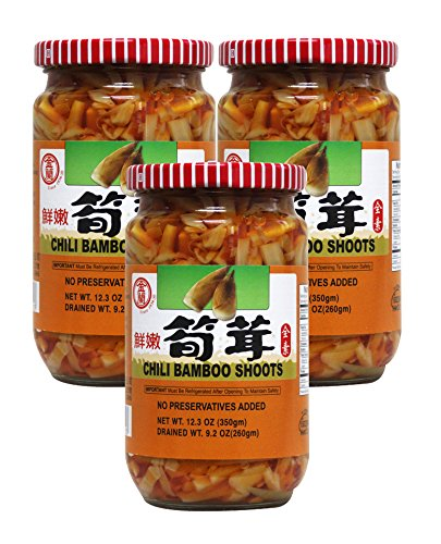 bamboo shoot in chili oil - 3
