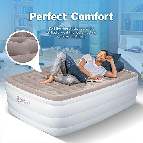 Etekcity Air Mattress Elevated Raised Blow Up Bed