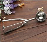 1 2 cup muffin scoop - Ice Cream Scoop - Good 1 Pcs Stainless Steel Ice Cream Scoop Stacks Cookie Mash Muffin Spoon Cooking 4cm 5cm 6cm - Thrifty Joie Zeroll Novelty Decorative With Cupcake Decor Animal Kuhn