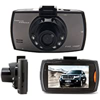 Dashboard Camera Car Recorder Dash Cam - 1080p 170 Degree Wide Angle Mirror Vehicle Dashcam Video with G-Sensor WDR Loop Recording Parking Monitor Security Night Vision