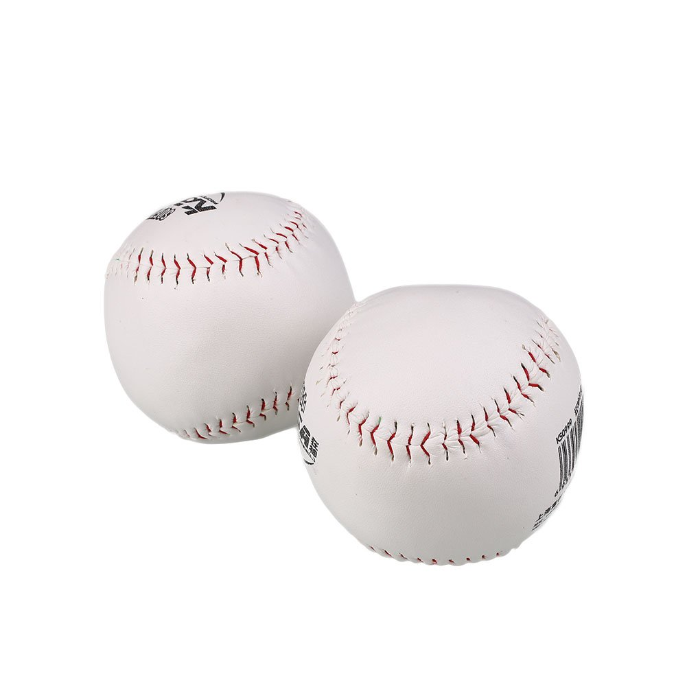 Forfar 2Stk Übung & Trainning Baseball Softball Trainieren BaseBall Sport Softball Übung Weiße Outdoor Aktivität Base Ba
