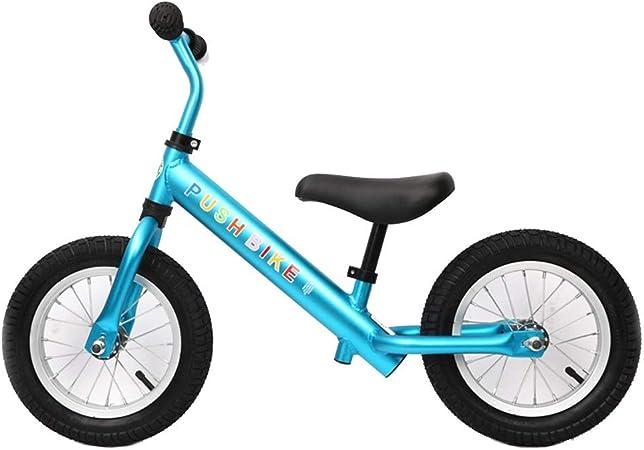 Bicicleta sin pedales Bici Bicicleta de Equilibrio para niños de 2 a 8 años, Bicicletas de Aluminio para Caminar, niñas y niños (Color : Azul): Amazon.es: Hogar