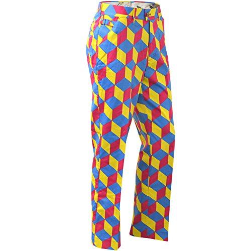 Royal & Awesome Men's Plus Size Golf Pants, Knicker Blocker Glory, 38W x 32L -