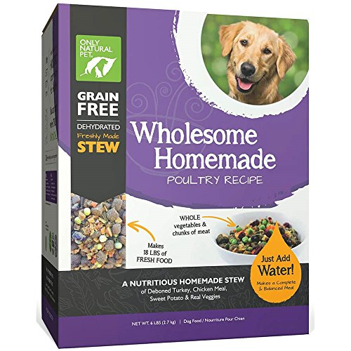 Only Natural Pet Wholesome Homemade Stew Dehydrated Dog Food