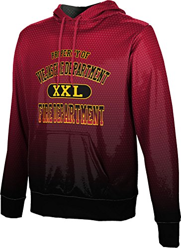 ProSphere Men's Viejas Fire Department Zoom Pullover Hoodie - Viejas Alpine