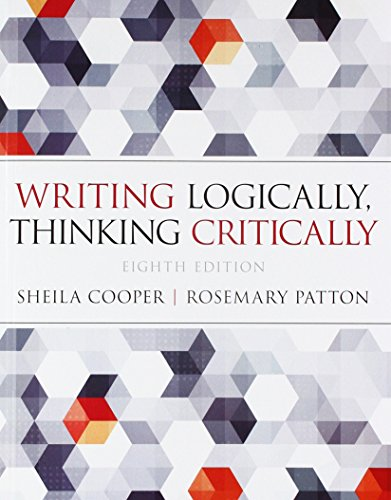 Writing Logically Thinking Critically Pearson Writer    Standalone Access Card Writer    12 Month Access (8th Edition)