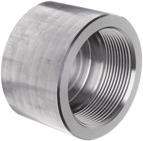 304/304L Forged Stainless Steel Pipe Fitting, Cap, Class 3000, 1/2