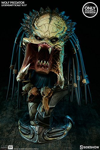 gendary Scale Bust by Sideshow Collectibles (Predator Bust)