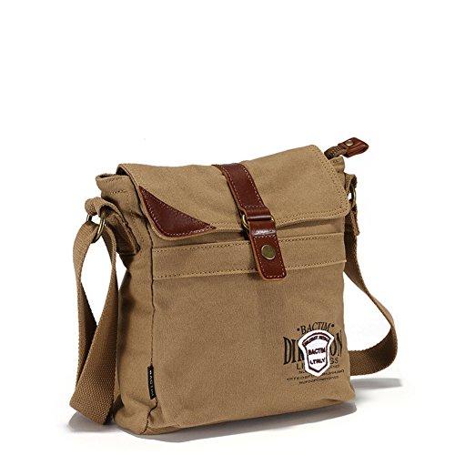 Bolsas de lona/bolso de bandolera/bolso de hombro inclinado/De los hombres retro paquete sport de literatura y arte-A A