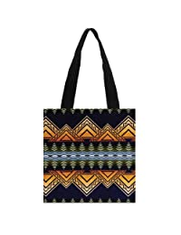 Pendleton Chief Joseph Natural Cotton Canvas Grocery Totes Bags Washable Reusable Large Tote Bag