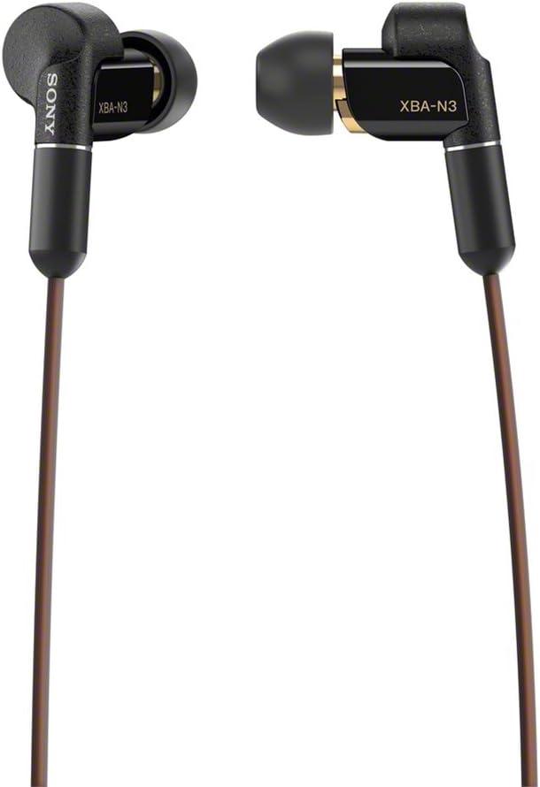 ソニー イヤホン ハイレゾ対応 カナル型 ケーブル着脱式 XBA-N3