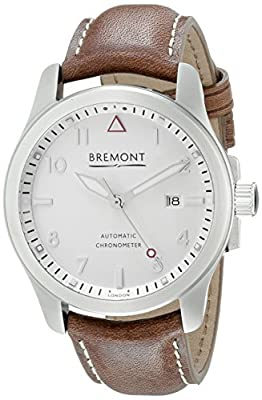 Bremont Men's SOLO/WH - SI Analog Display Swiss Automatic Brown Watch