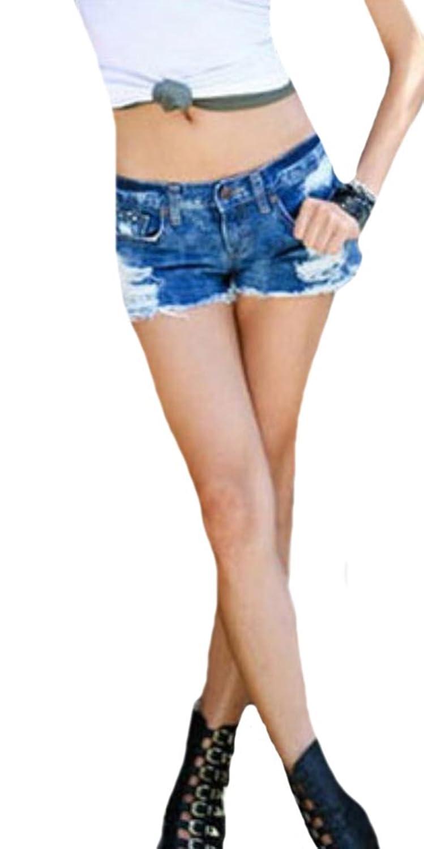 Zago Women Fashion Denim Slim Fit Shorts Sexy Hot Pants
