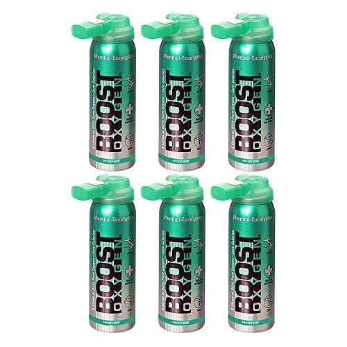 95% Pure Pocket Sized Oxygen Supplement, Portable