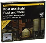 Vallejo Rust and Steel Effects Weathering Set