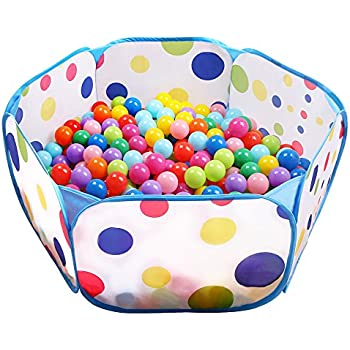 Kids Ball Pit EocuSun Large Pop Up Toddler Ball Pits Tent For Toddlers  Girls Boys For