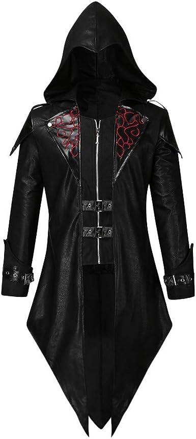 Sallydream Abrigo Hombre Oto/ño Invierno Goth Steampunk Rebajas Chaqueta Elegante Festival Moda Outwear
