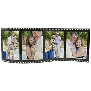 Horizontal Filmstrip Frame Wave Frames- Holds 4 Photos - Case of 12
