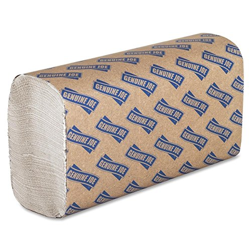 Genuine Joe GJO21100 Multifold Towels, 9.5'' x 9.10'' - Pack of 6 by Genuine Joe