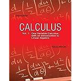 Calculus- Vol.1
