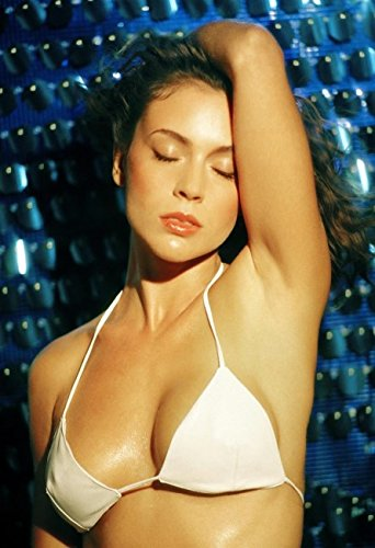 ALYSSA MILANO Hot Wet Bikini Top 010 13x19 Poster
