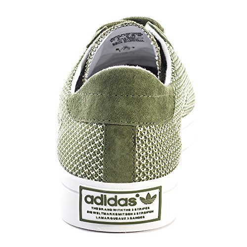 Adidas Original Court Vantage Mens Mesh & Synthetic Trainers Green - 40-2/3 EU