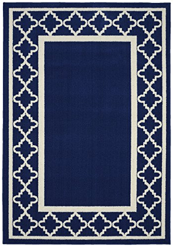 Garland Rug Moroccan Frame Indigo product image