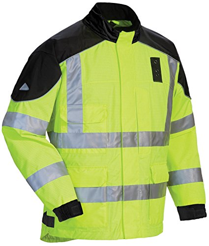 Tour Master Sentinel LE Rain Jacket - Large/Hi-Visibility Yellow - Hi Performance Vent Hood
