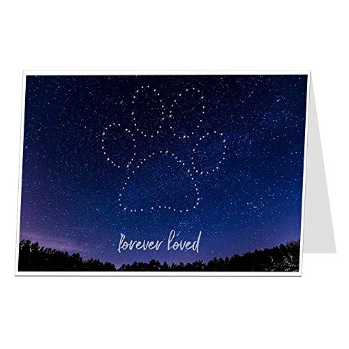 Dog Sympathy Card In Memory Of Condolences For Your Loss Forever Loved