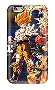 Iphone 6 Case Cover - Slim Fit Tpu Protector Shock Absorbent Case (dbz)