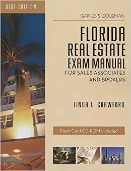 Descargar Por Utorrent Florida Real Estate Exam Manual: For Sales Associates And Brokers Kindle Puede Leer PDF