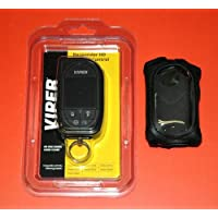 Viper 7944V Remote & Leather Case Combo for Viper Systems 5906V 5904V 5902V