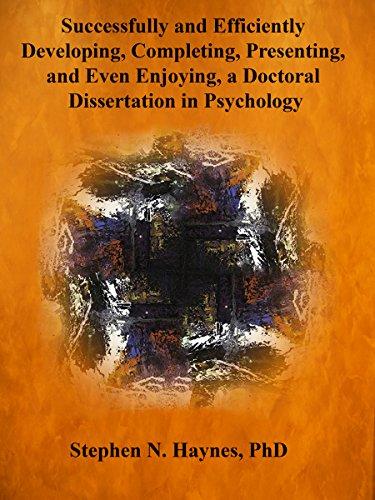 Doctoral dissertation in psychology