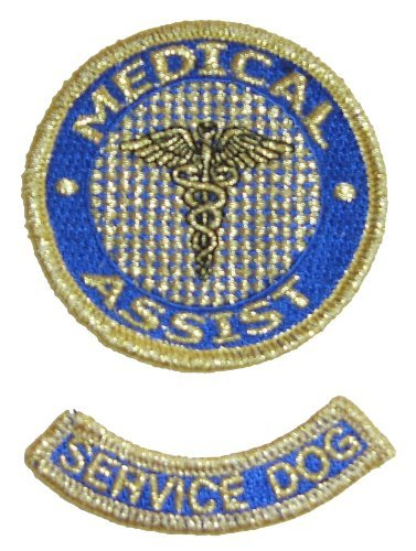 Medical Assist Patch and Service Dog Rocker