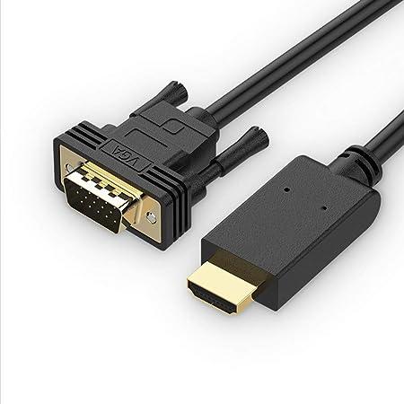 Línea de conversión de Hdmi Cable de computadora Línea de monitor de TV Convertidor de HDMI