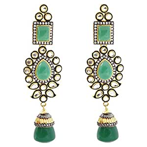 Arabella Luxuries Gold Plated La Victorienne Sophistiquee Drop & Dangle Earring, Push Back