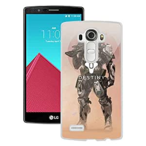 Beautiful Designed Case With Destiny Titan White For LG G4 Phone Case