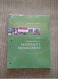 Introduction to hospitality management florida atlantic university introduction to hospitality management fau edition 3rd edition for florida atlantic university fandeluxe Gallery