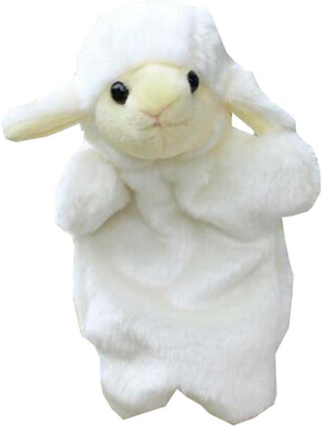 Black Temptation Dibujos Animados de Animales Marionetas de Mano Juguetes de Terciopelo Suave muñecas apoyos - ovejas