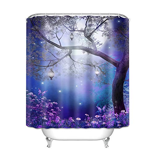 Check expert advices for moon shower curtain bathroom set?