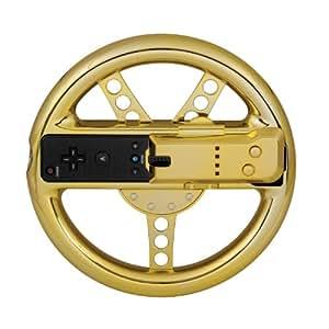 dreamGEAR DGWII-1281 mando y volante - Volante/mando (Volante, Wii, Oro)