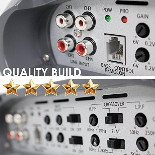 SoundXtreme ST-1550.1 Monoblock 1 Stable 1550 W Remote Level Control