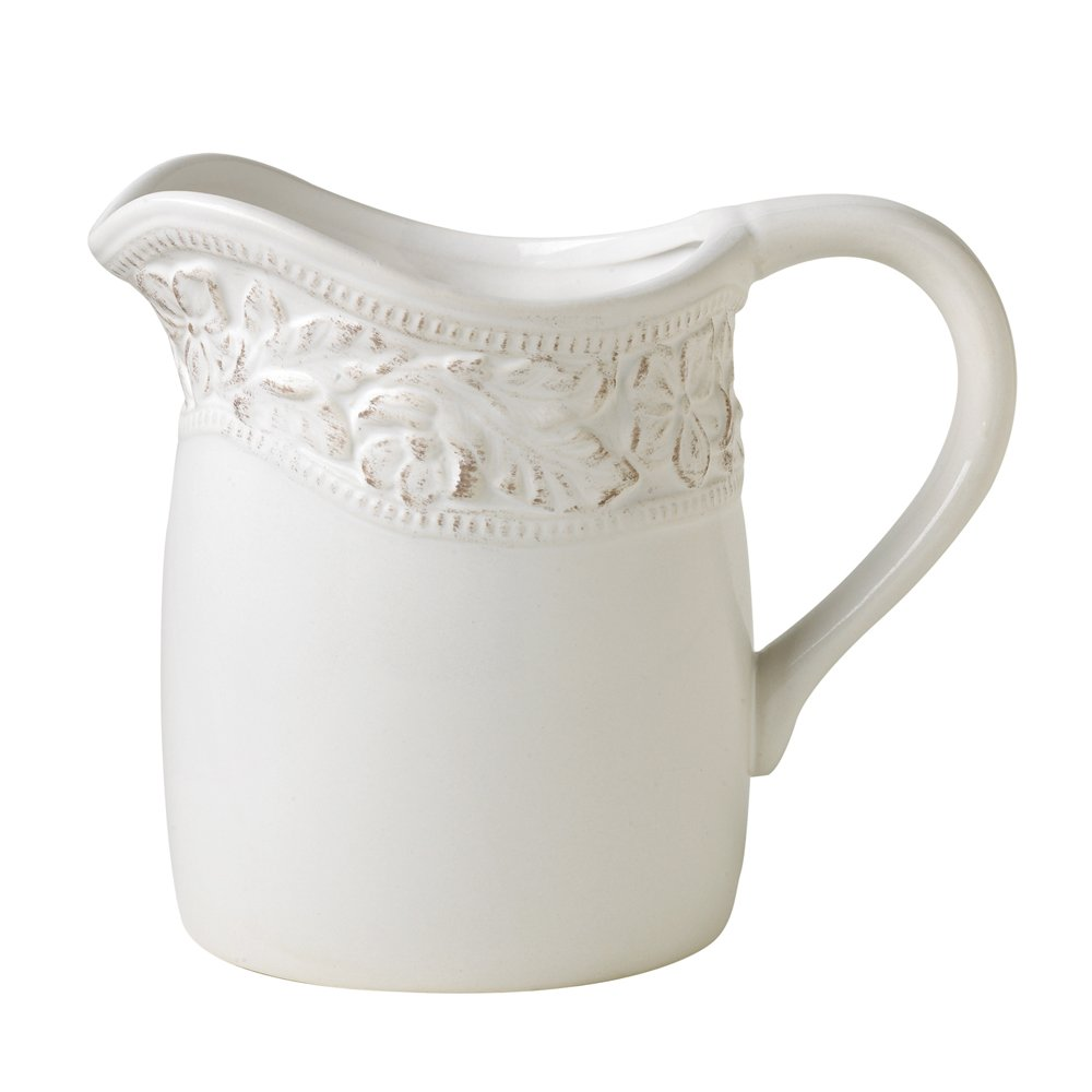 White Country Style Cupboard Pitcher