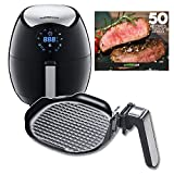 GoWISE USA 3.7-Quart 7-in-1 Electric Air Fryer + Insert Grill Pan with 50 Recipes for your Air Fryer Book Review