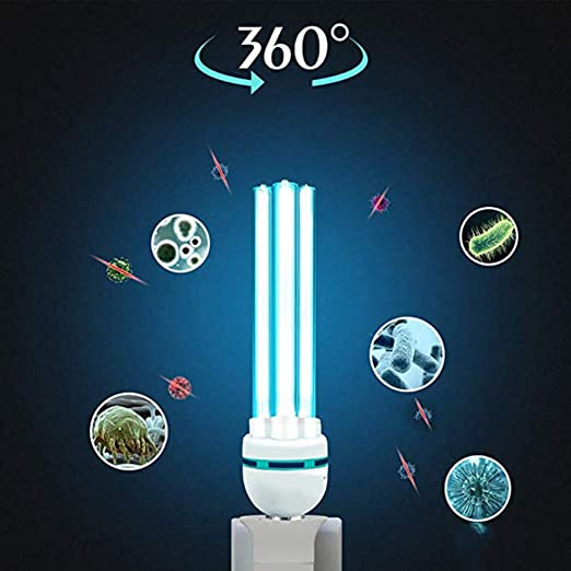 Temporizador de control remoto portátil Ozono UV Desinfección Lámpara-esterilización Luz Eliminar formaldehído Eliminar ácaros Purificador de aire Para el baño doméstico Retardo del área de mascota: Amazon.es: Hogar