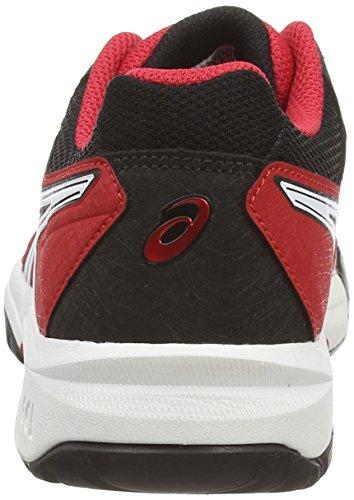 Asics Gel-resolution 6 Gs, Unisex-Kinder Tennisschuhe Rot (fiery Red/black/white 2390)