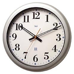 BAI Aquamaster Weatherproof Wall Clock, Bodoni White