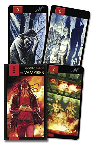 Gothic Tarot of Vampires (English and Spanish Edition)