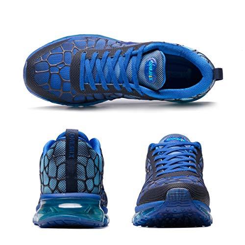 Asfalto y Calzado Libre Zapatos Air para Aire Libre Calzado Azul Deportes para y 25be4a